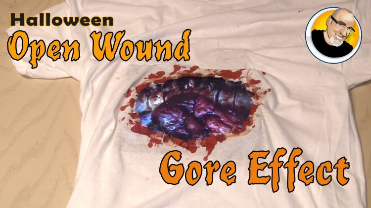 Halloween Open Wound Gore Effect!
