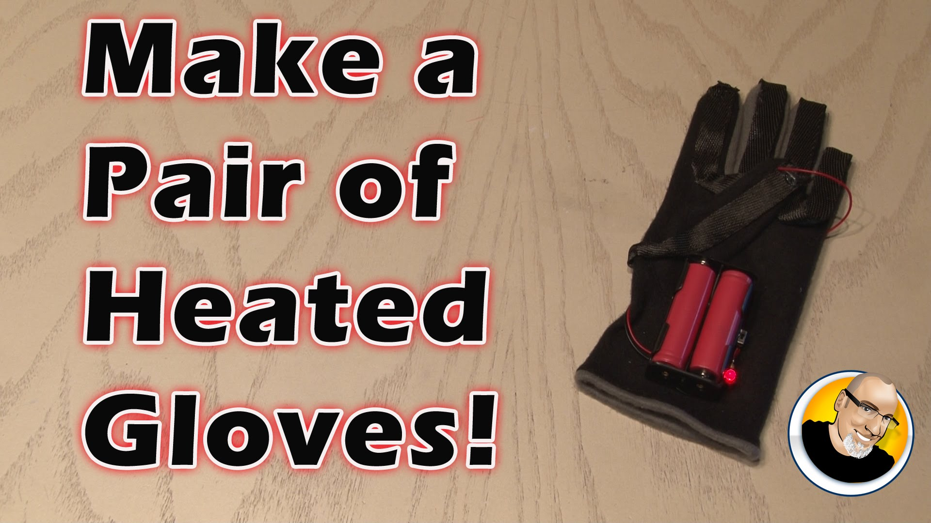 Make a Pair of Heated Gloves!