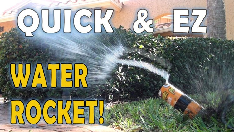 QUICK & EZ WATER ROCKET!