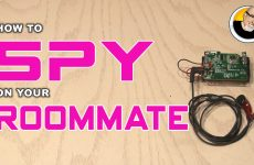 How-to Spy on your Roommate!
