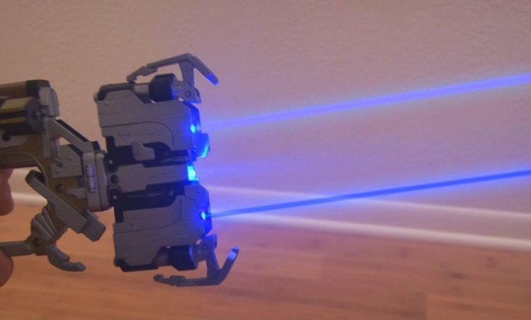 Laser Hacked Plasma Cutter from Dead Space!