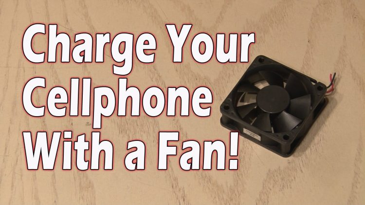 Charge Your Cellphone with a Fan!