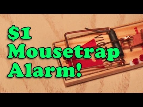 $1 Mousetrap Alarm! Bang!