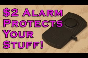 $2 Alarm Protects Your Stuff!!