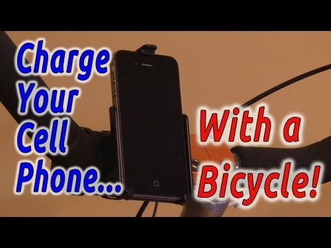 Charge Your Cell Phone with a BICYCLE!
