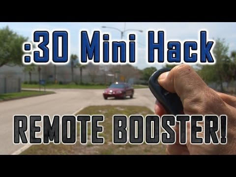 How To Increase Your CAR REMOTE DISTANCE!