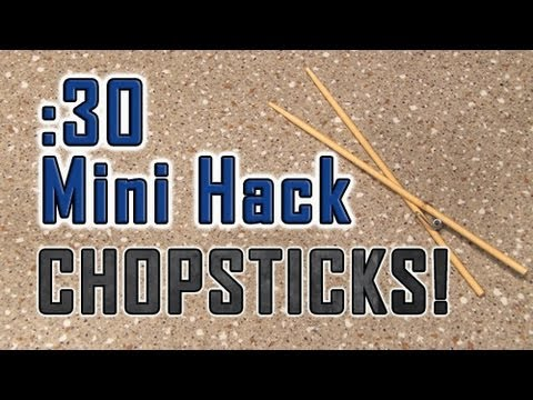 How to Hack CHOPSTICKS! 筷子