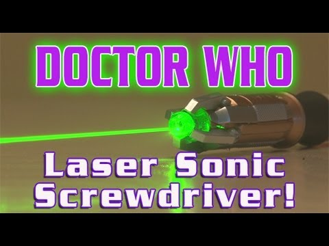 Doctor Who – LASER Sonic Screwdriver!