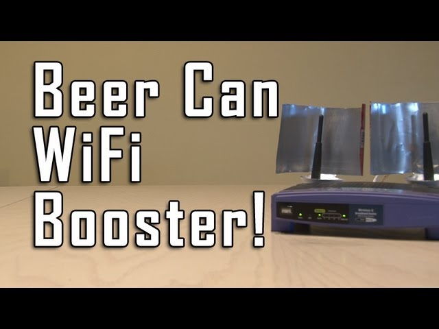 Beer Can WiFi Booster!