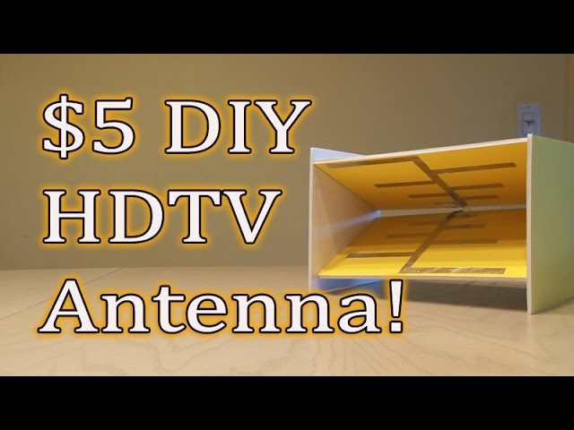 5 diy hdtv antenna get free tv kipkayvideos for Hdtv antenna template