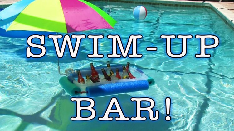 The Swim up Bar!