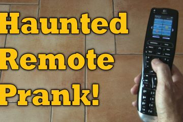 Haunted Remote Prank! Use any Remote!