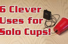 6 Clever Uses For Solo Cups!