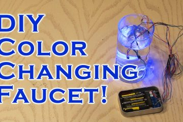 DIY Color Changing Faucet!