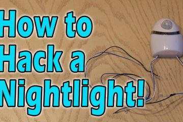 How to Hack a Nightlight!