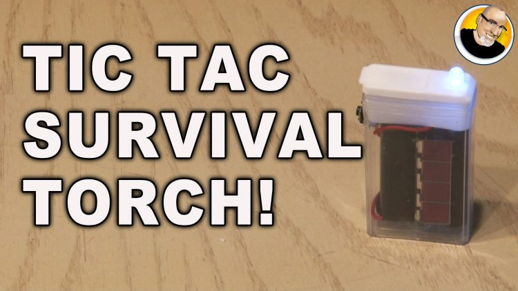 Tic Tac Survival Torch!
