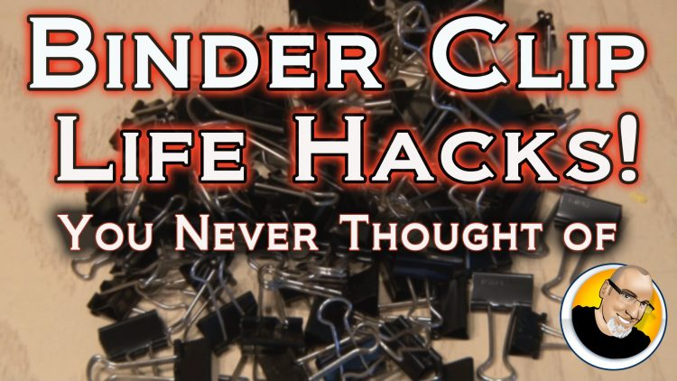 BINDER CLIP LIFE HACKS You Never Thought Of!