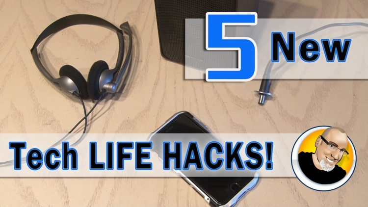 5 New TECH LIFE HACKS You May Have Never Seen!