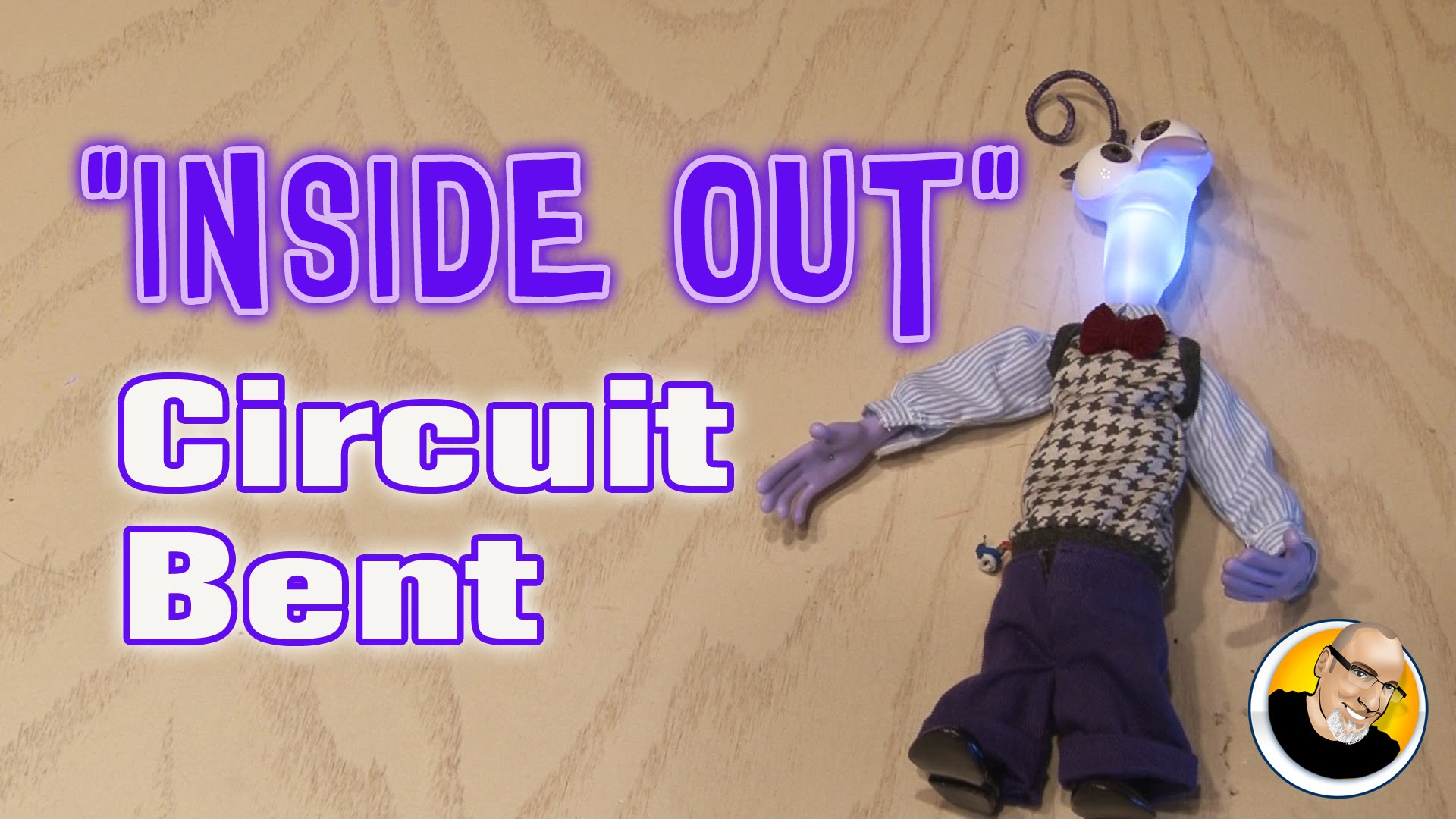 Kipkay Videos Homepage Part 3 Simple Ways To Circuit Bend A Toy Bending Pinterest Inside Out Bent
